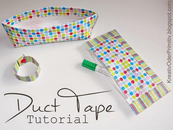 Duct Tape: Mäppchen und Utensilo