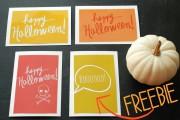 Halloween Karten