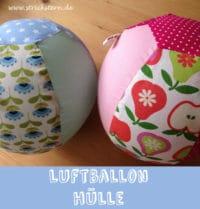 Eine Luftballon Hülle für Babys