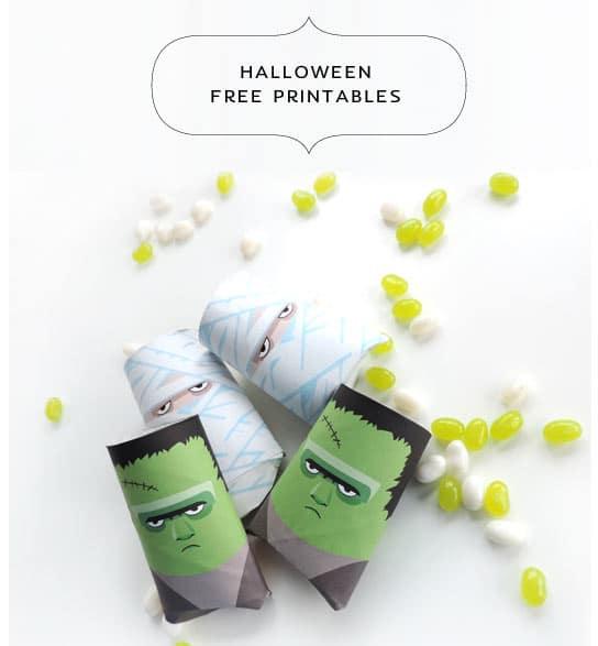 Halloween-Klorollen-Upcycling