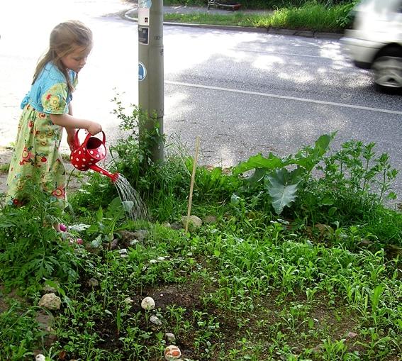 Die Stadt ist unser Garten!