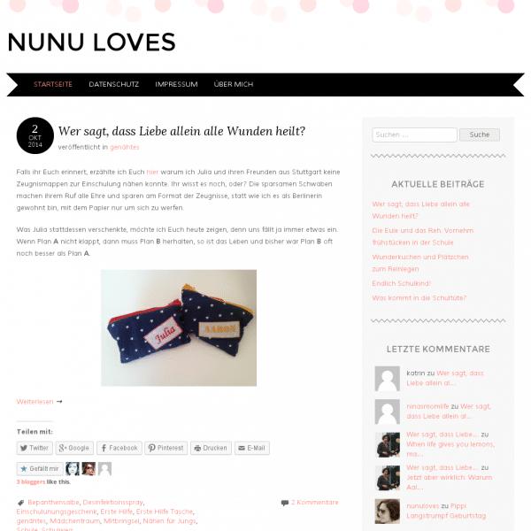 Nunu loves