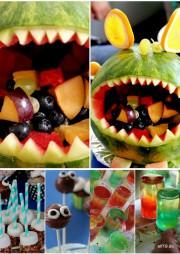 Monster-Obstsalat - perfekt für den nächsten Kindergeburtstag!