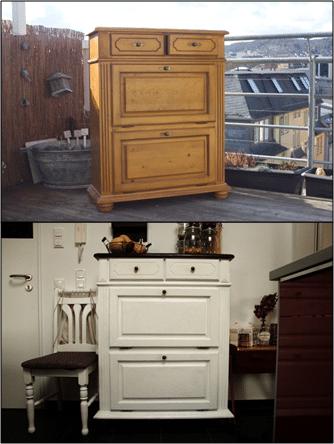 Diy schrank wohnzimmer inspiration ber haus design for Kleines weisses tischchen