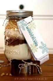 Geschenkidee - Backmischung im Ball Jar Glas