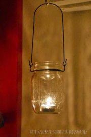 romantisch mit Ball Jars