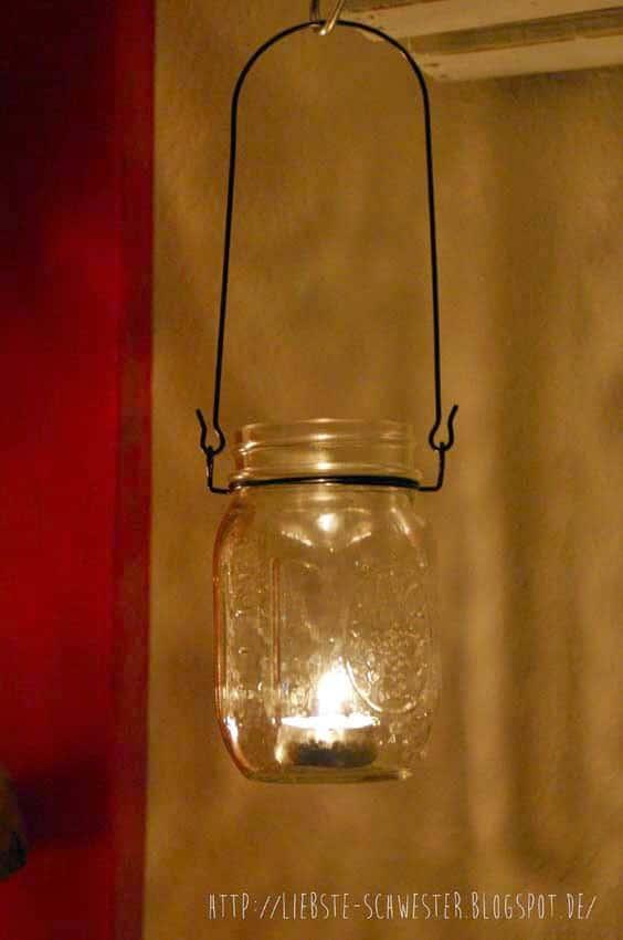 romantisch mit ball jars handmade kultur. Black Bedroom Furniture Sets. Home Design Ideas