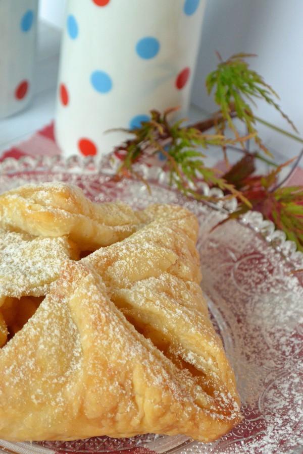 Süße Apfeltaschen mit Zimt & Zucker