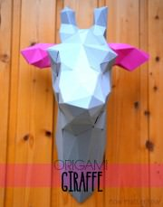 PaperShape | meine eigene Giraffe an der Wand…