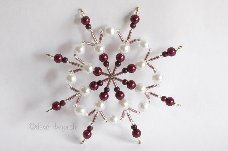 Perlensterne handmade kultur - Drahtsterne basteln ...