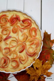 Apfel-Rosetten Kuchen