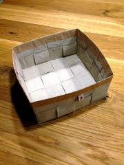 Upcycling Papierbox