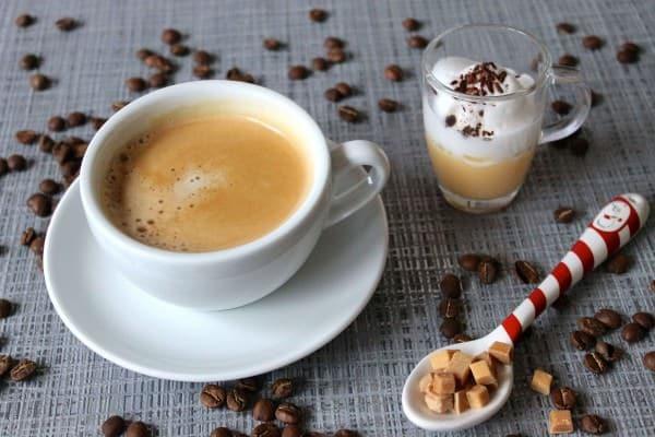 Kaffee mit Schuss
