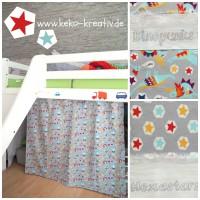Kinderbett Vorhang