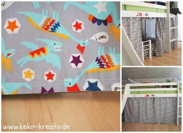 Kinderbett Vorhang - HANDMADE Kultur