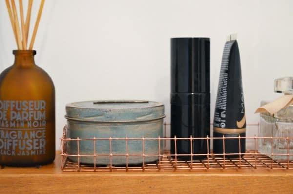 easy peasy drahtgitterkorb in kupfer handmade kultur. Black Bedroom Furniture Sets. Home Design Ideas