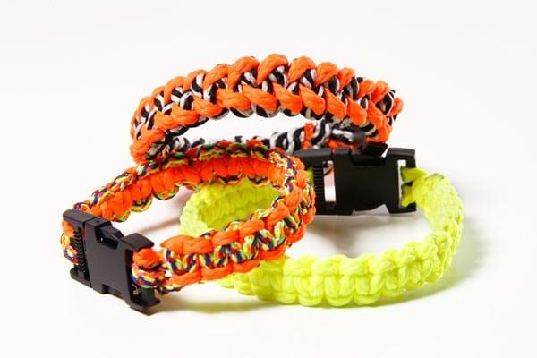 Fabulous DIY-Anleitung: Paracord-Armband - HANDMADE Kultur XL62