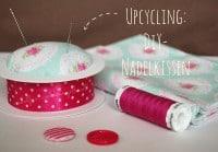DIY Upcycling Nadelkissen