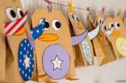 DIY-Pinguin-Adventskalender