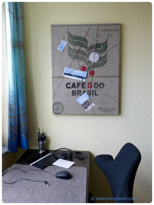 Pinnwand für ein Männerzimmer