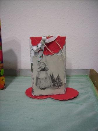 weihnachten geschenktaschen handmade kultur. Black Bedroom Furniture Sets. Home Design Ideas