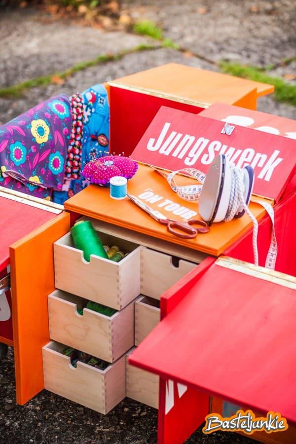 Stylisch unterwegs! Jannes DIY-Mobil