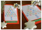 Last Minute Adventskalender in Miniformat mit Noppenfolie