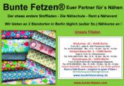 Bunte Fetzen® in Berlin - Einzigartige Stoffauswahl !