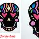 DIY Laterne Sugar Skull