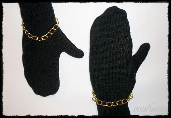 Handschuhe aus Pulli nähen