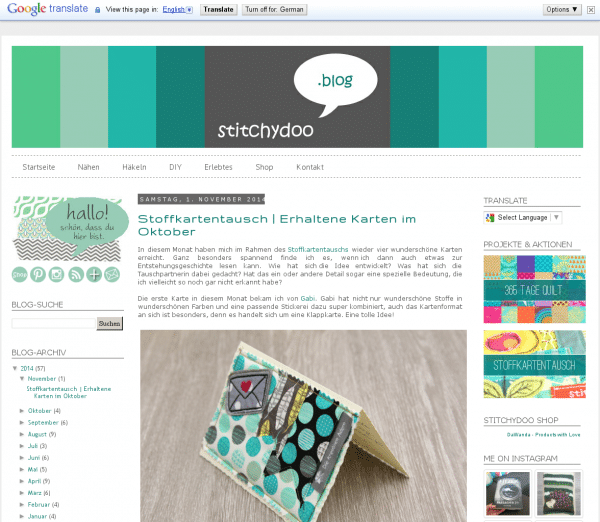 stitchydoo Blog