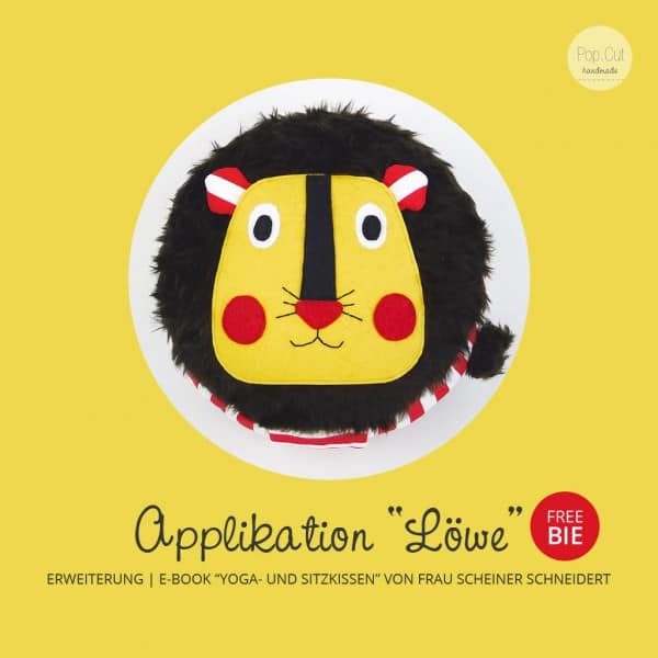 "Freebie: Applikation ""Löwe"""