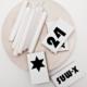 Streichholzschachteln mit weihnachtlichen Papier kaschieren