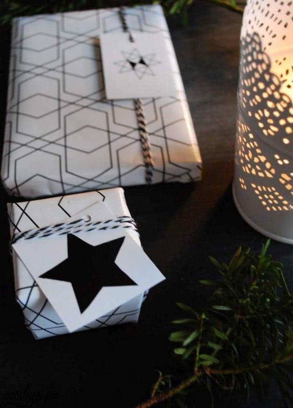 Geschenkanhänger für Weihnachten