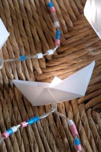 Schiffchen-Lichterkette