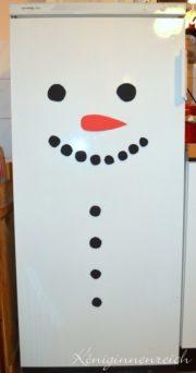 Fridge-Frosty, the Snowman