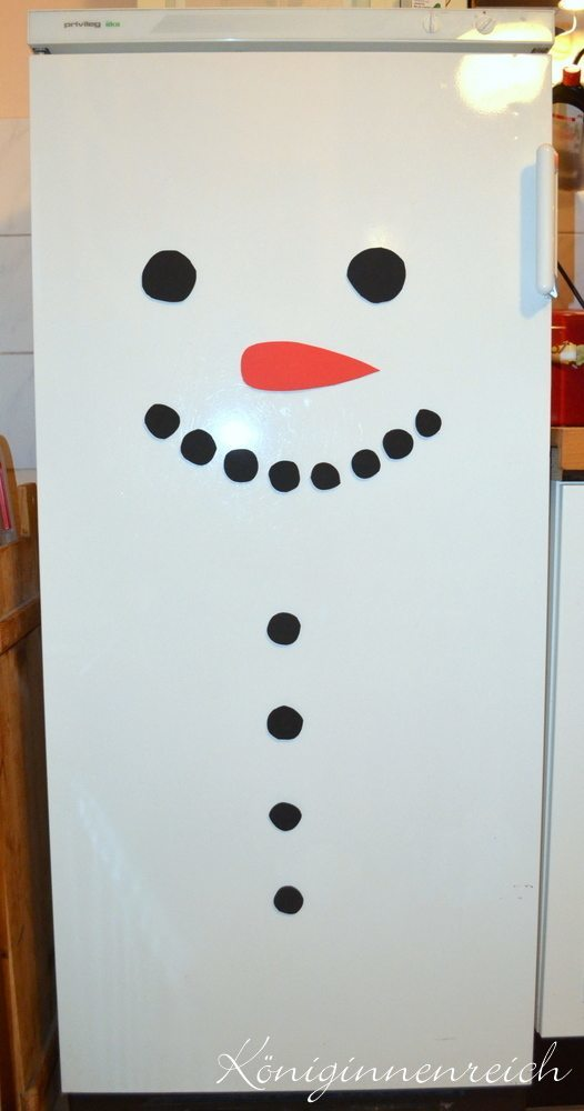Fridge-Frosty, the Snowman