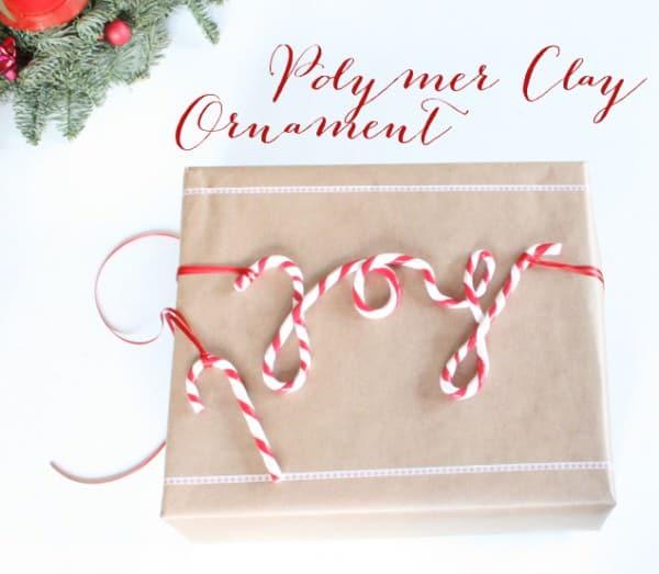 Polymer Clay Weihnachtsornament