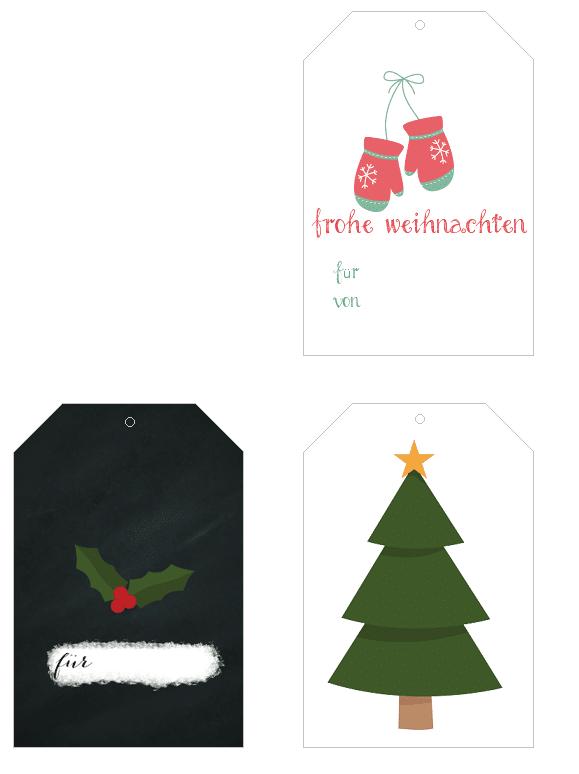 freebie anh nger zum ausdrucken f r weihnachtsgeschenke. Black Bedroom Furniture Sets. Home Design Ideas