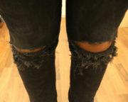 DIY - Zerrissene Jeans zum selber machen