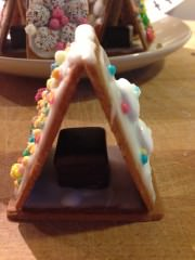 Süße Nikolausihäuser - schnell gebaut, süß verziert, lieb verschenkt, groß erfreut!
