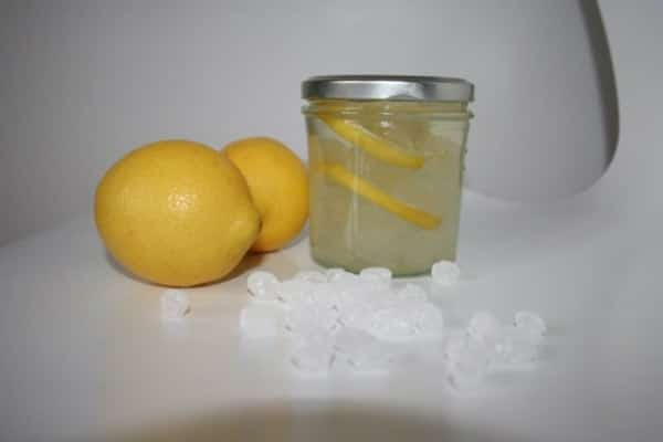 Zitronenkandis zum Tee