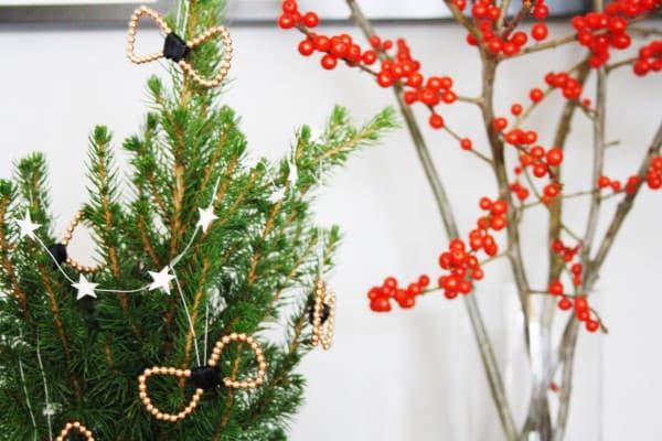 Schmuck für den Weihnachtsbaum DIY