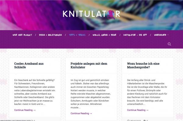 Knitulator | Rechnen, Stricken/Häkeln, Mode machen