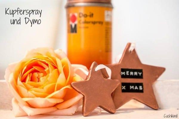 Anhänger für den Weihnachtsbaum aus Fimo