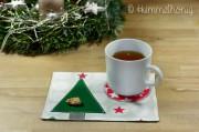 Weihnachtlicher Mug Rug