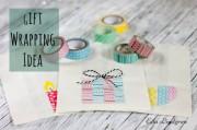 Geschenke verpacken mit Masking Tape