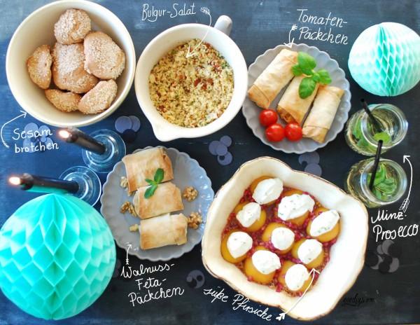 Rezepte für das Silvester-Buffet