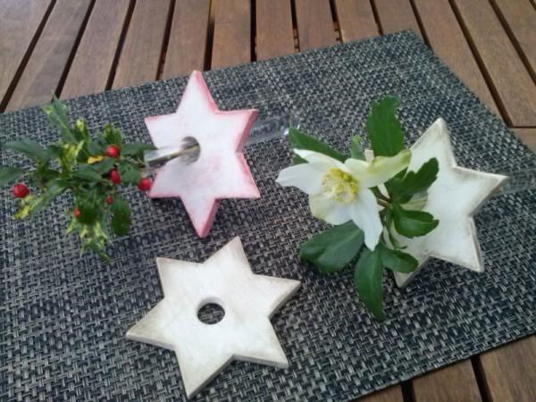 Sterne für den Tisch