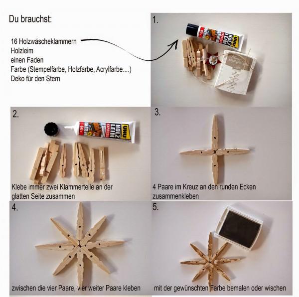 Diy Weihnachtsstern Basteln: DIY Weihnachtsstern